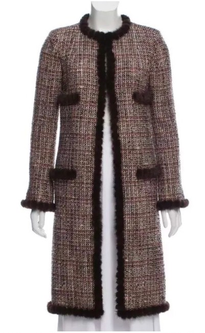 Preload https://img-static.tradesy.com/item/25359601/chanel-browns-tweed-with-mink-trim-coat-size-4-s-0-0-650-650.jpg