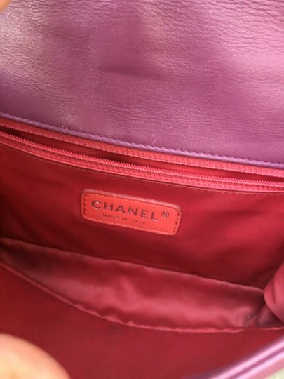 Chanel Colorblock Classic Chain Cc Shoulder Bag Image 1