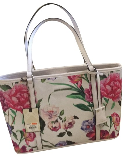 Preload https://img-static.tradesy.com/item/25359766/dana-buchman-peony-print-hdb63to41-white-with-shades-of-pink-and-mauve-little-purple-and-green-accen-0-1-540-540.jpg