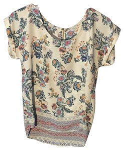 94e2d4cfd354c Pink Republic Top white with floral print