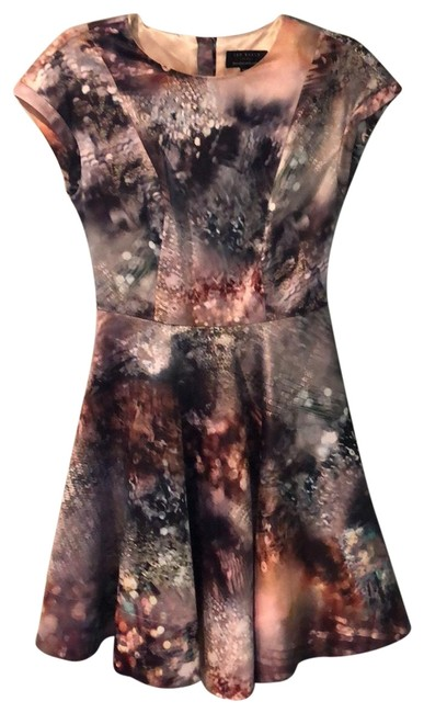 Item - Multicolor Rn 95229 Short Night Out Dress Size 0 (XS)