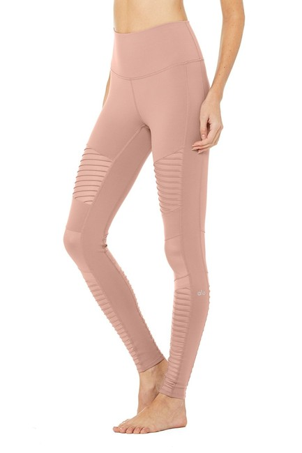 Item - Pink Yoga High Waist Moto New with Tags Activewear Bottoms Size 00 (XXS, 24)