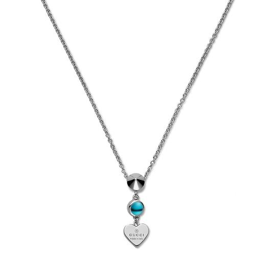 Preload https://img-static.tradesy.com/item/25361069/gucci-silver-trademark-engraved-heart-and-blue-topaz-necklace-0-0-540-540.jpg
