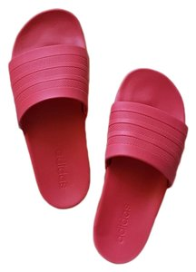 adidas Red Sandals