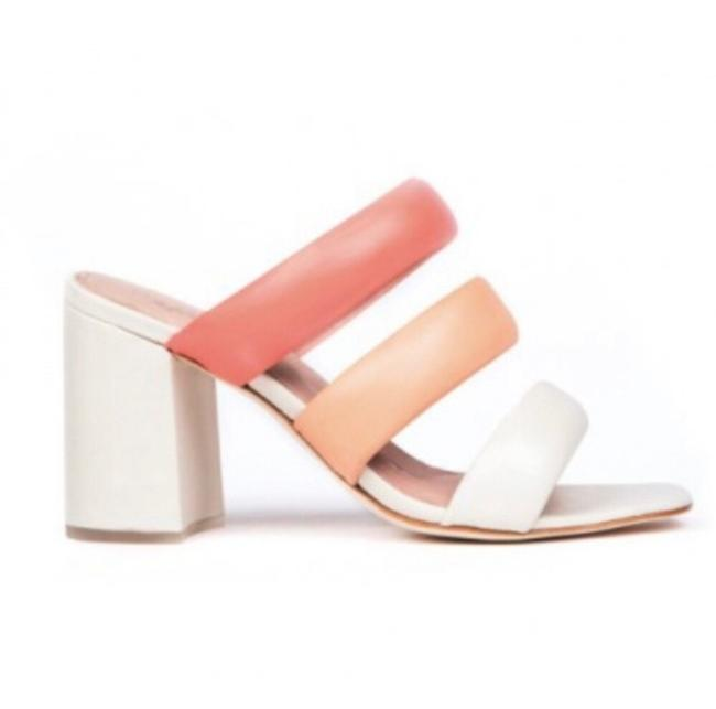 Item - White Pink Coral Kate Bosworth Kelly Sandals Size US 8.5 Regular (M, B)