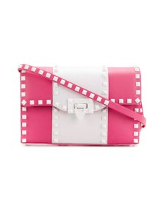4f88d4112ad Pink Leather Valentino Shoulder Bags - Up to 70% off at Tradesy