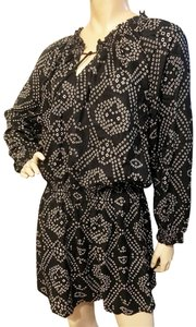 Antik Batik short dress black Free People Boho Gypsy Flowy Comfortable on Tradesy