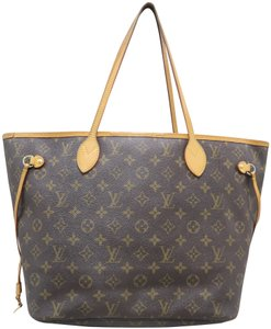 930a88c9e7c7 Louis Vuitton Lv Neverfull Canvas Monogram Mm Shoulder Bag