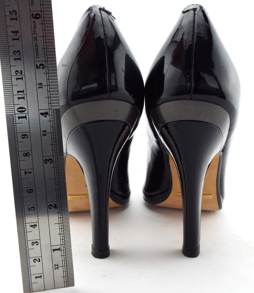 902ce411be8 Cole Haan Black Patent Leather Nike Air Heels Pumps Size US 9 Regular (M, B)