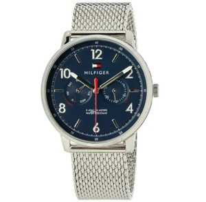 Tommy Hilfiger Tommy Hilfiger Men's Watch Silver Stainless Steel Blue Dial