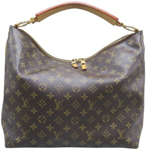 Louis Vuitton Lv Sully Monogram Canvas Mm Hobo Bag