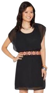 Charming Charlie short dress black on Tradesy
