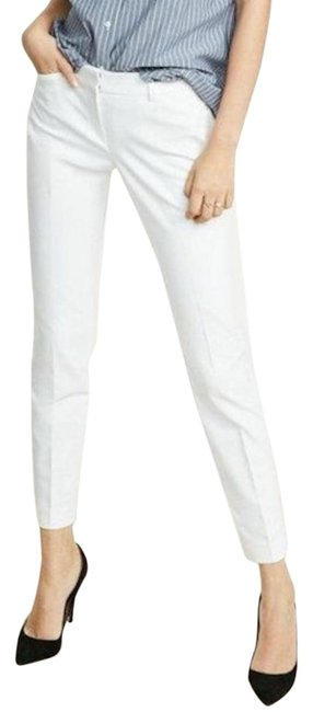 Item - White Editor Low Rise Ankle Pants Size 8 (M, 29, 30)