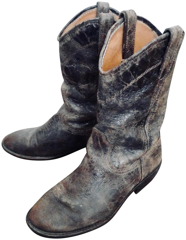 ab20ac78005 Brown Cowboy Boots/Booties
