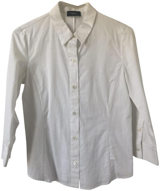 Item - White Classic Button-down Top Size 0 (XS)