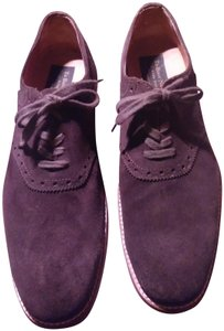 To Boot New York Suede Lace-up Men's Brown Flats