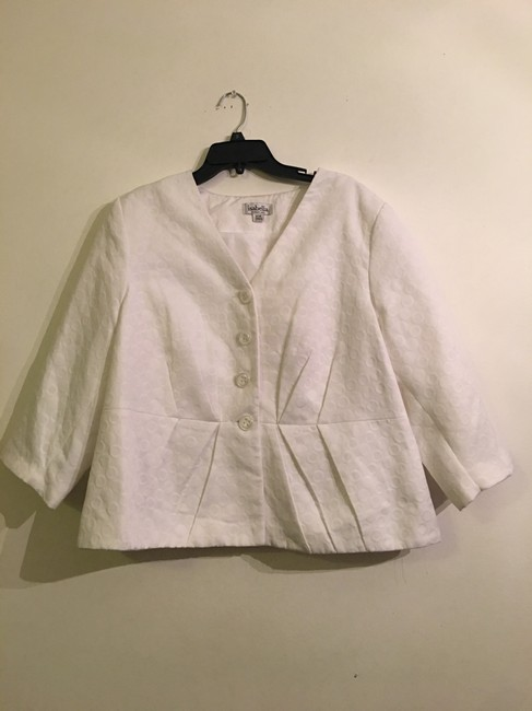 Item - White None Activewear Outerwear Size 20 (Plus 1x)