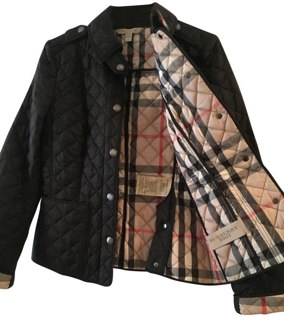 Item - Black Quilted Jacket Size 0 (XS)