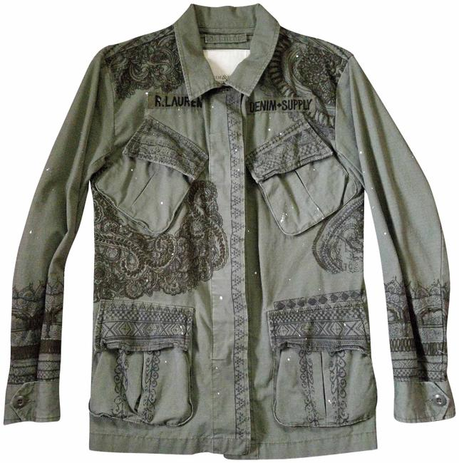 Item - Military Green Ralph Lauren And Jacket Size 6 (S)