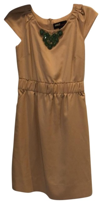 Preload https://img-static.tradesy.com/item/25364770/miss-sixty-taupe-mid-length-workoffice-dress-size-6-s-0-1-650-650.jpg
