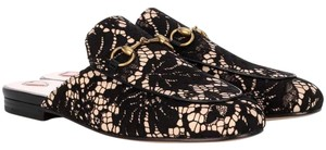 Gucci Pricetown Lace Lace Black Mules