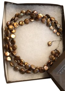 Silpada N1717 Retired Coin Pearl Silpada 3 strand Necklace $129