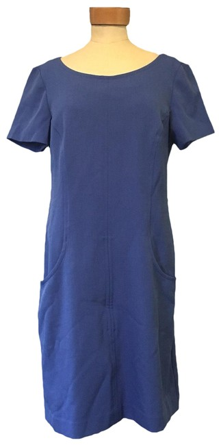 Item - Periwinkle Shift Mid-length Work/Office Dress Size 8 (M)