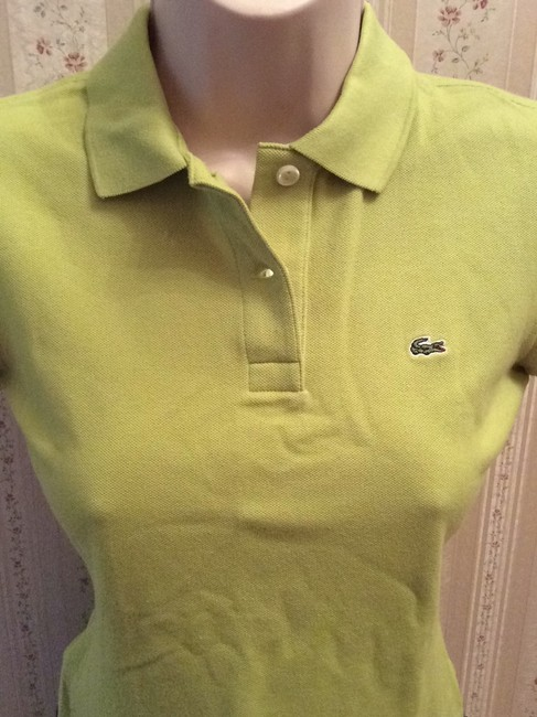 Lacoste T Shirt Mint Green Image 1