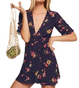 Reformation short dress Florida Wrap Floral Summer on Tradesy