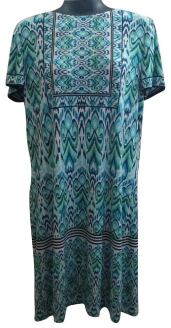 Item - Multicolored Short Casual Dress Size 8 (M)