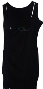 FUBU short dress BLACK on Tradesy