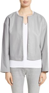 Fabiana Filippi grey Leather Jacket