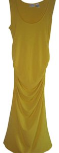 Newport News short dress YELLOW on Tradesy