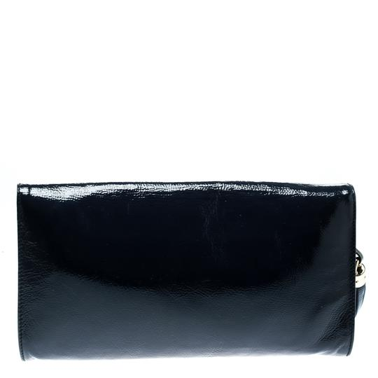 Gucci Leather Blue Clutch Image 1