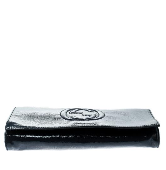 Gucci Leather Blue Clutch Image 4