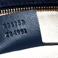 Gucci Leather Blue Clutch Image 6