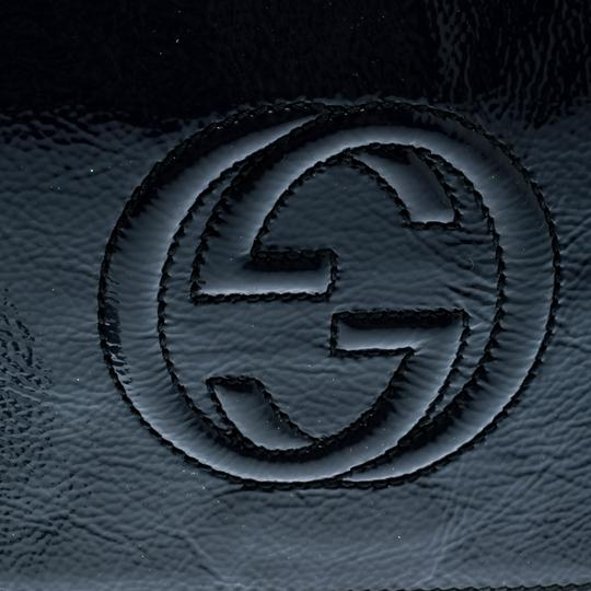 Gucci Leather Blue Clutch Image 7