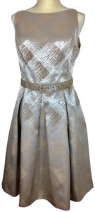 Evan Picone Party Linen Dryclean Only Dress