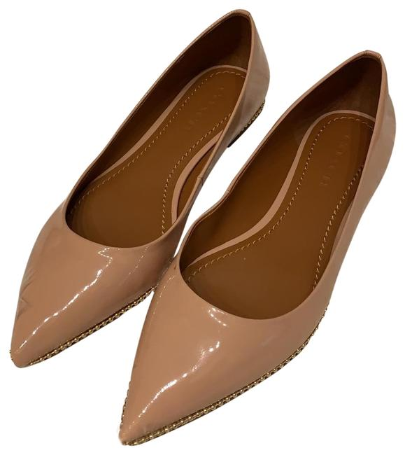 Item - Nude Flats Size US 9 Regular (M, B)