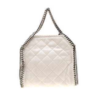 Stella McCartney Leather Tote in White