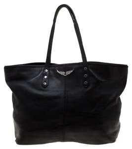 Zadig & Voltaire Leather Tote in Black