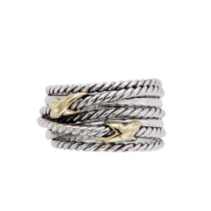 David Yurman David Yurman * Double X Crossover Ring