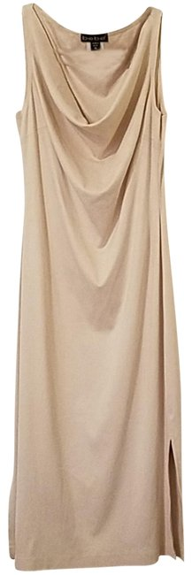 Item - Beige Mid-length Night Out Dress Size 0 (XS)