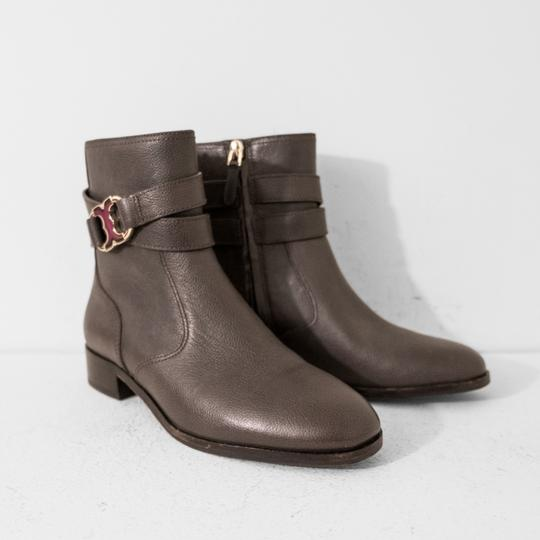 Tory Burch Gray Boots Image 1