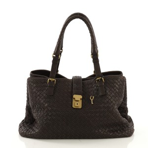 Bottega Veneta Nappa Leather Tote in brown