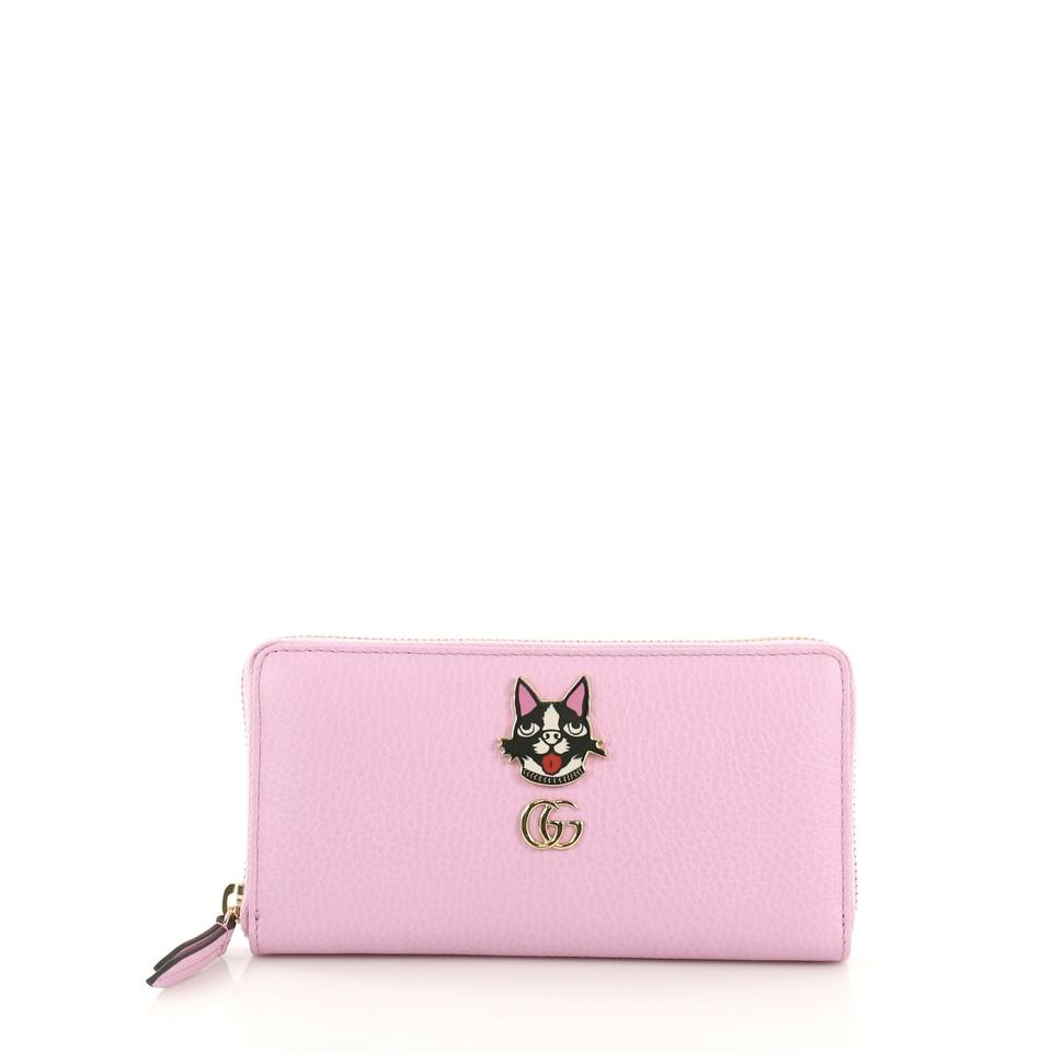 5550268a3fd8 Gucci Gucci GG Marmont Zip Around Wallet Embellished Leather Image 0 ...