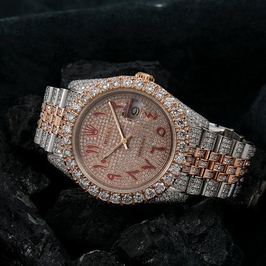 Rolex Rolex Datejust 116231 36MM Champagne Diamond Dial With 17.25 CT Image 1