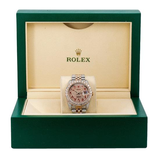 Rolex Rolex Datejust 116231 36MM Champagne Diamond Dial With 17.25 CT Image 5