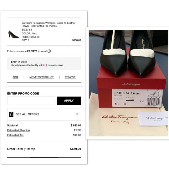 Salvatore Ferragamo black Pumps Image 8