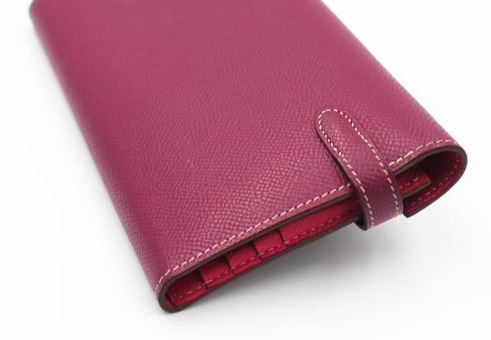 Hermès Epsom Kelly Longue Wallet Tosca with interior in Rose Tyrien Image 3